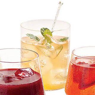 Peachy Bourbon Lemonade.