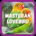 Masteran Lovebird Ngekek icon