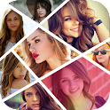photo collage, image editor icon