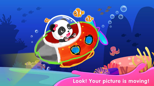 Baby Panda's Drawing Book - Painting for Kids screenshot 3