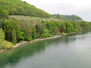 Photo: Day 33 - A View of the Rhine and Nature's Greens!