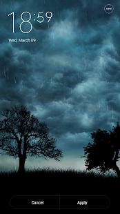 Live Storm Pro Wallpaper Screenshot