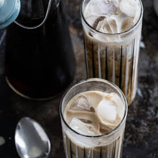 Iced Coffee Cocktail.
