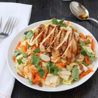 Asian Sesame Chicken Chop Salad