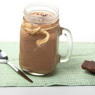 Chocolate Mason Jar Ice Cream.