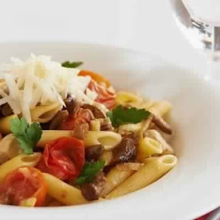 Penne With Chicken And Mushrooms