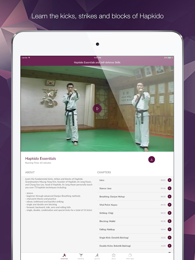 Hapkido Essentials- screenshot