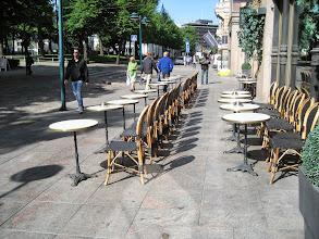Photo: Outdoor coffee setting Helsinki
