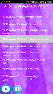DRAGANA MIRKOVIC SONGS - náhled