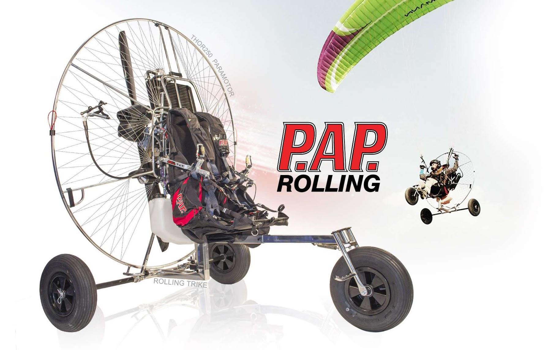 Paramotor Trike training