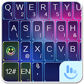 TouchPal Colorful Neon Theme