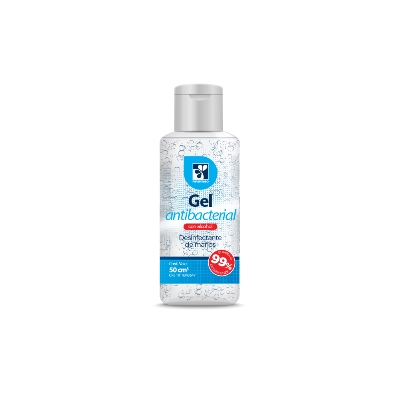 Gel Antibacterial Farmatodo 50 mL Gel Farmatodo Antibacterial 50ml
