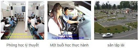 Hình ảnh hoạt động trung tâm đào tạo lái xe ô tô