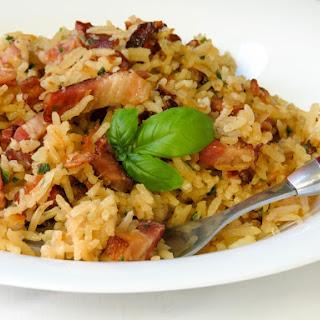 Quick & Easy Bacon Rice