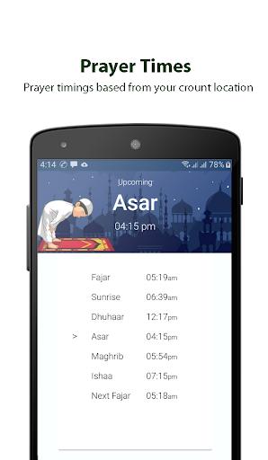 Ramadan Calendar 2020, Prayer Timing, Quran, Qibla screenshot 3