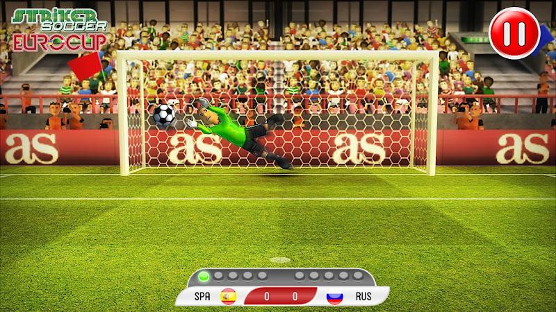 Скриншот Striker Soccer Euro 2012
