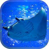 Aquarium manta simulation game