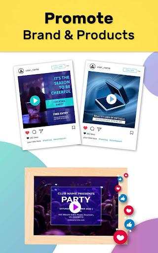 Video Story Maker, Post Maker, Social Video Maker 28.0 screenshots 23