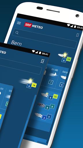 SRF Meteo - Wetter Prognose Schweiz Apk 2