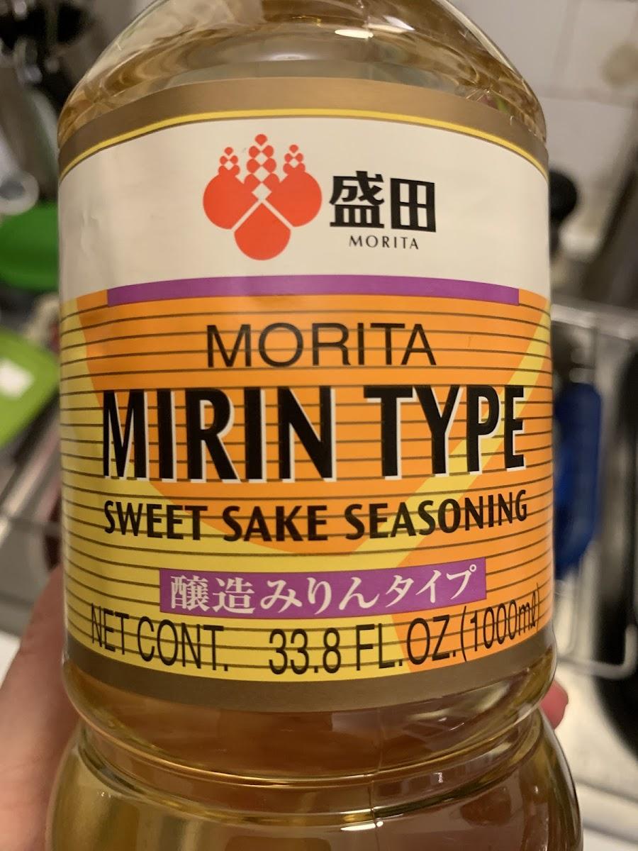 Mirin Type Sweet Sake Seasoning