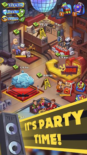 Party Clicker u2014 Idle Nightclub Game apkpoly screenshots 1