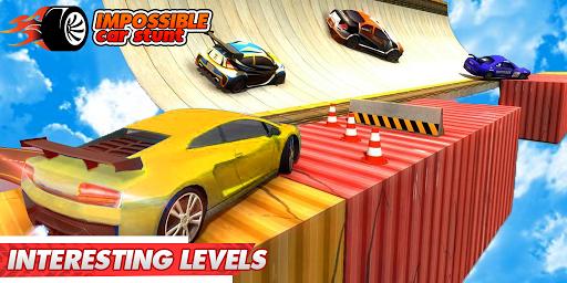 Impossible Car Stunts 3D - Car Stunt Races screenshots 2