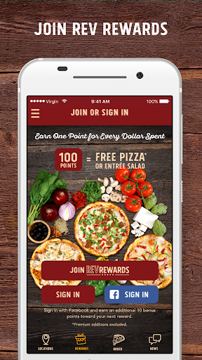 PizzaRev Screenshot