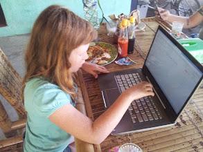 Photo: blogging