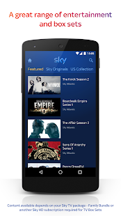 Sky Go Screenshot 4