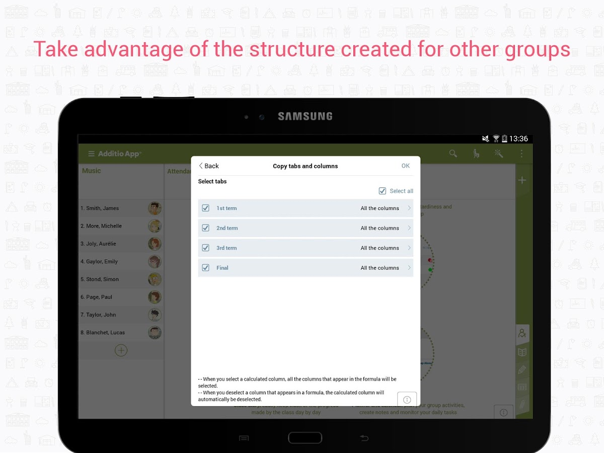 Teacher's Gradebook - Additio- screenshot
