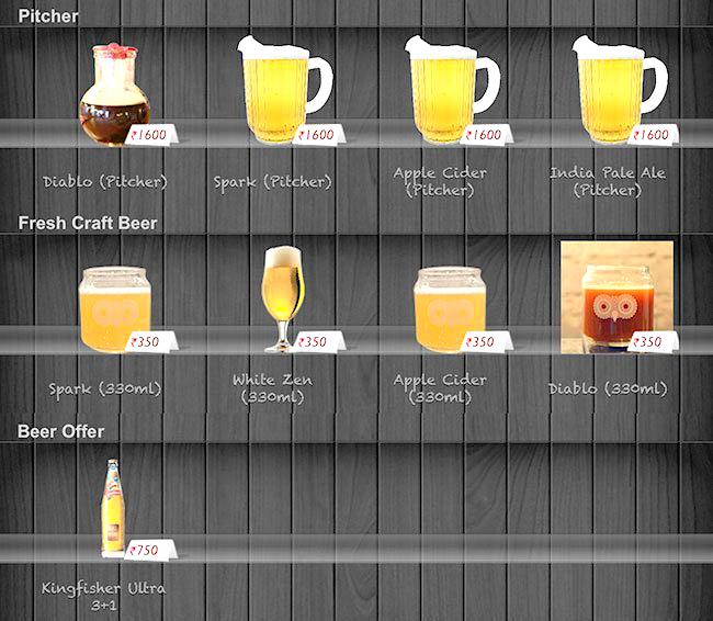 British Brewing Company menu 2
