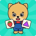 Baby flash cards for toddlers Icon