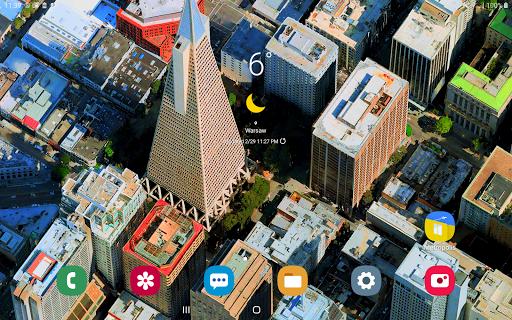 Metropolis 3D City Live Wallpaper [FREE] 🏙️ screenshot 14