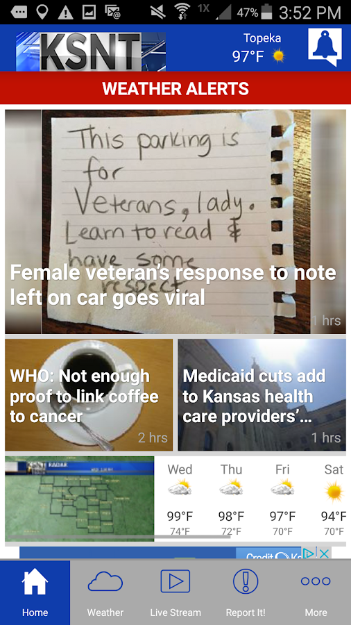 KSNT Kansas First News- screenshot