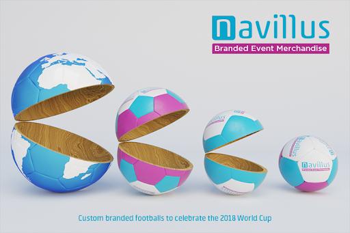 Custom printed promotional mini footballs