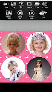 Princess Photo Collage - náhled