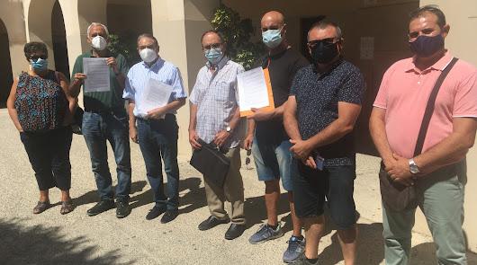Regantes de la vega inundan con 645 alegaciones el Registro de la Plaza Vieja