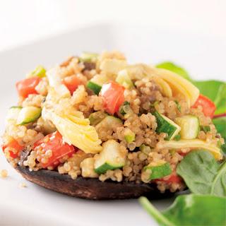 Quinoa-Stuffed Portobello Mushrooms Recipe