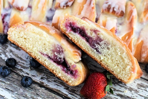 Berry Cream Cheese Danish