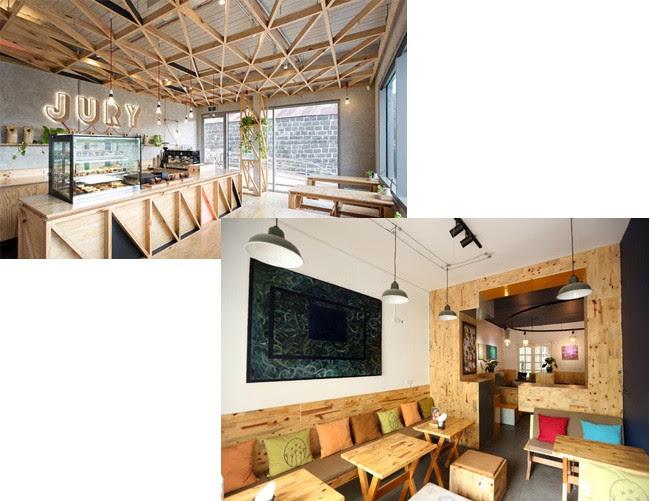 Gỗ trang trí quầy Bar, showroom, quán cafe 228224