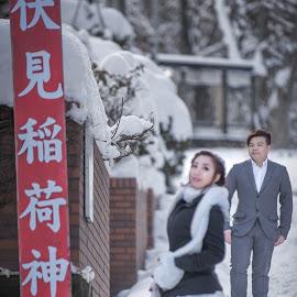 Mr right by JO Leong - Wedding Bride & Groom