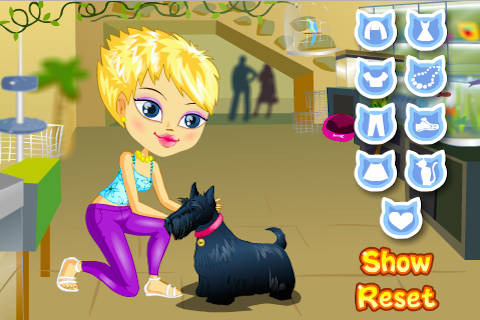 Pet Lover Dress Up