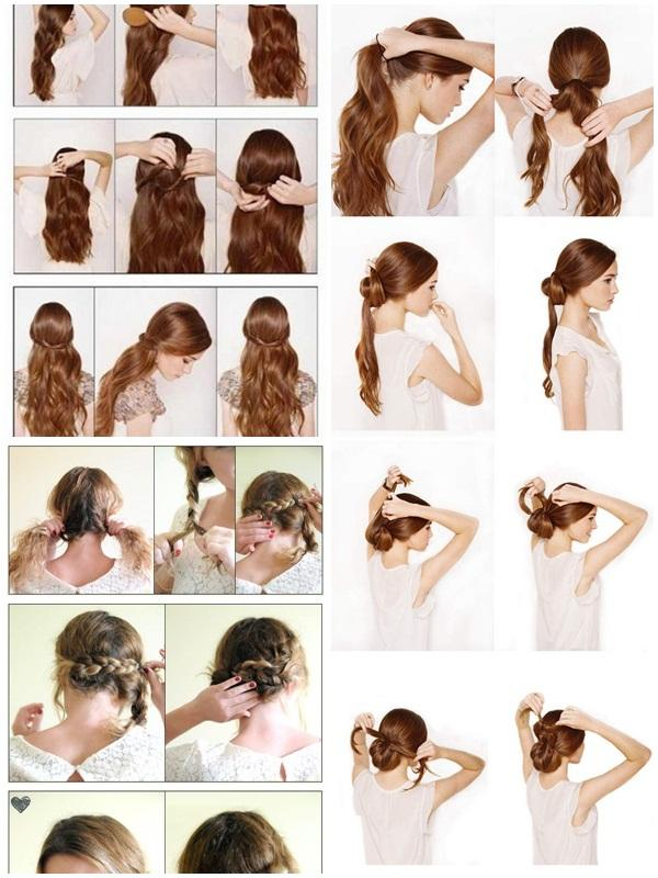 Hairstyles Step By Step 9 step by step hairstyles perfect for school Easy Hairstyle Step By Step Screenshot