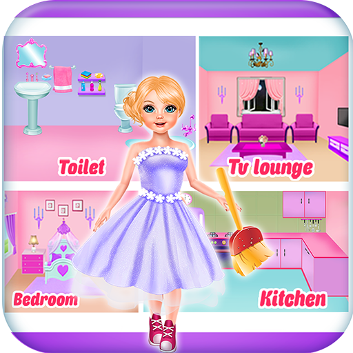 Doll house repair & cleaning games for girls (game)