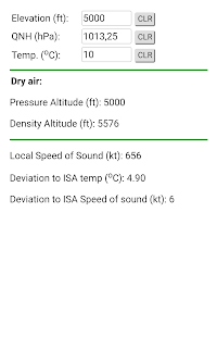 Density Altitude – Apps on Google Play