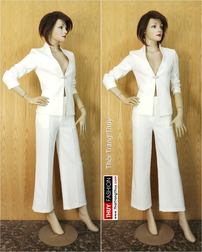 Áo vest nữ hai cổ mặc hai kiểu khác nhau V646 Thời Trang Thủy