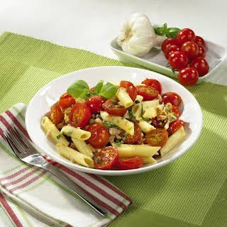 Tomato and Tuna Pasta.