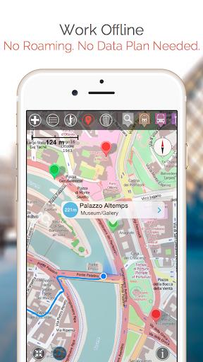 Pompei Map and Walks screenshots 2