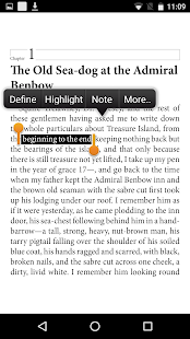 Bluefire Reader- screenshot thumbnail