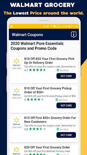 Download Coupons For Walmart Discounts Promo Codes 75 Free For Android Coupons For Walmart Discounts Promo Codes 75 Apk Download Steprimo Com